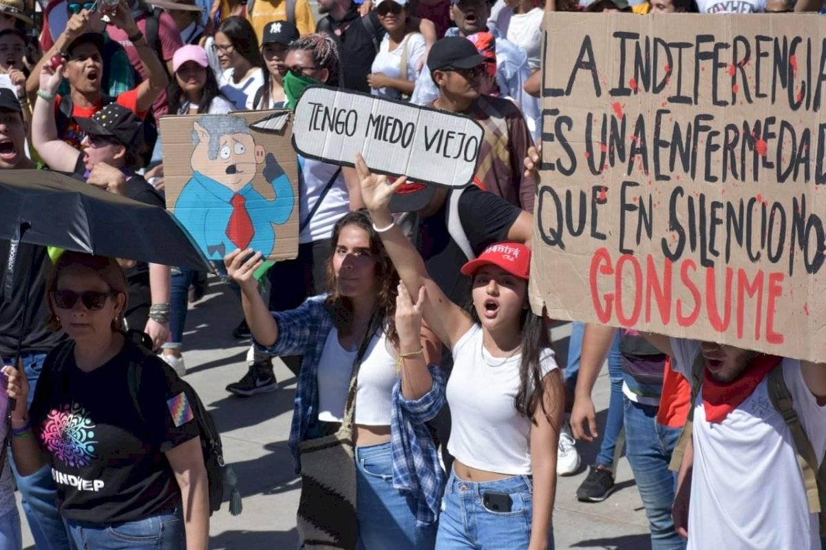 Miles protestan en Colombia contra el gobierno de Iván Duque María Paula Suárez/Publimetro Colombia