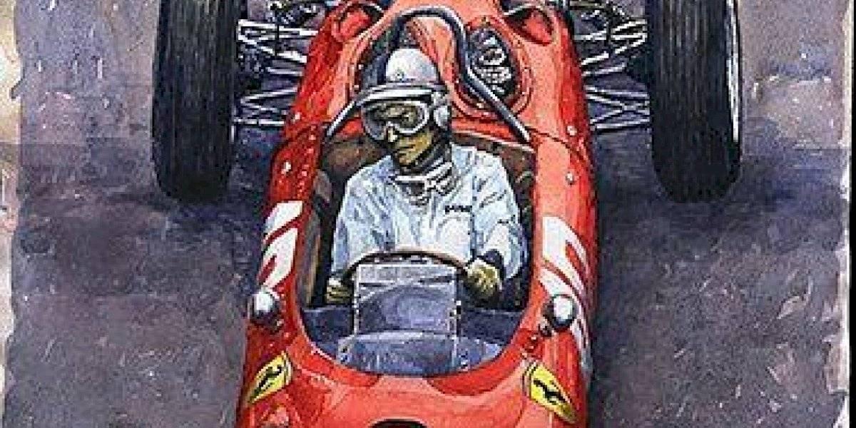 """Yuriy Shevchuk, autor de las pinturas de autos que verás en la película """"Contra lo imposible"""""""