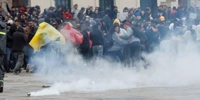 Decretan toque de queda en tres barrios populosos de Bogotá por vandalismo