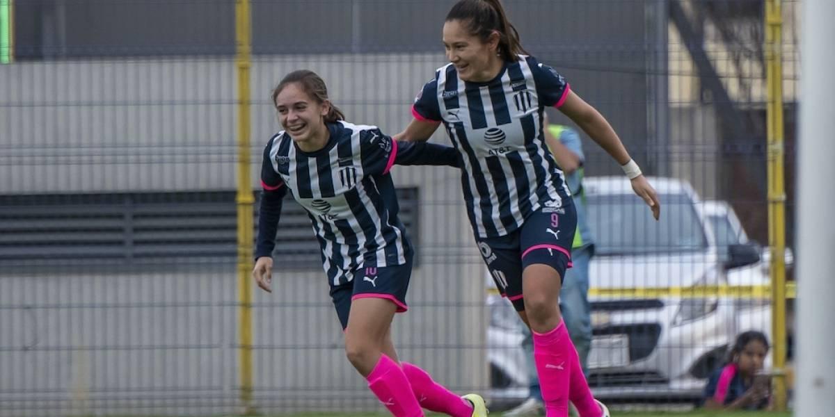 Monterrey femenil rescata empate en los últimos minutos ante América