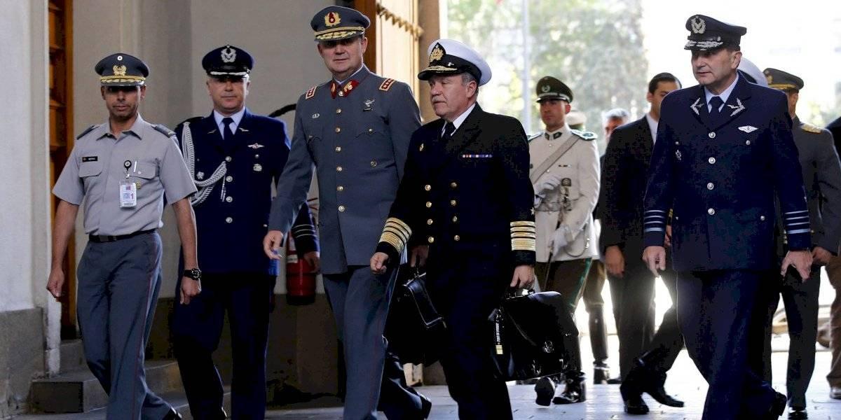 Comisión Chilena de DDHH afirma que declaración conjunta de FFAA es deliberante
