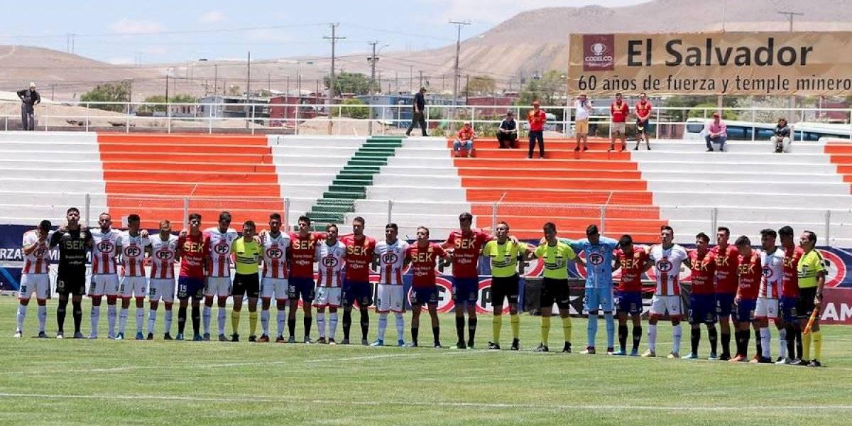 Cobresal le ganó en el epílogo a Unión Española en el único partido que se pudo jugar en Chile