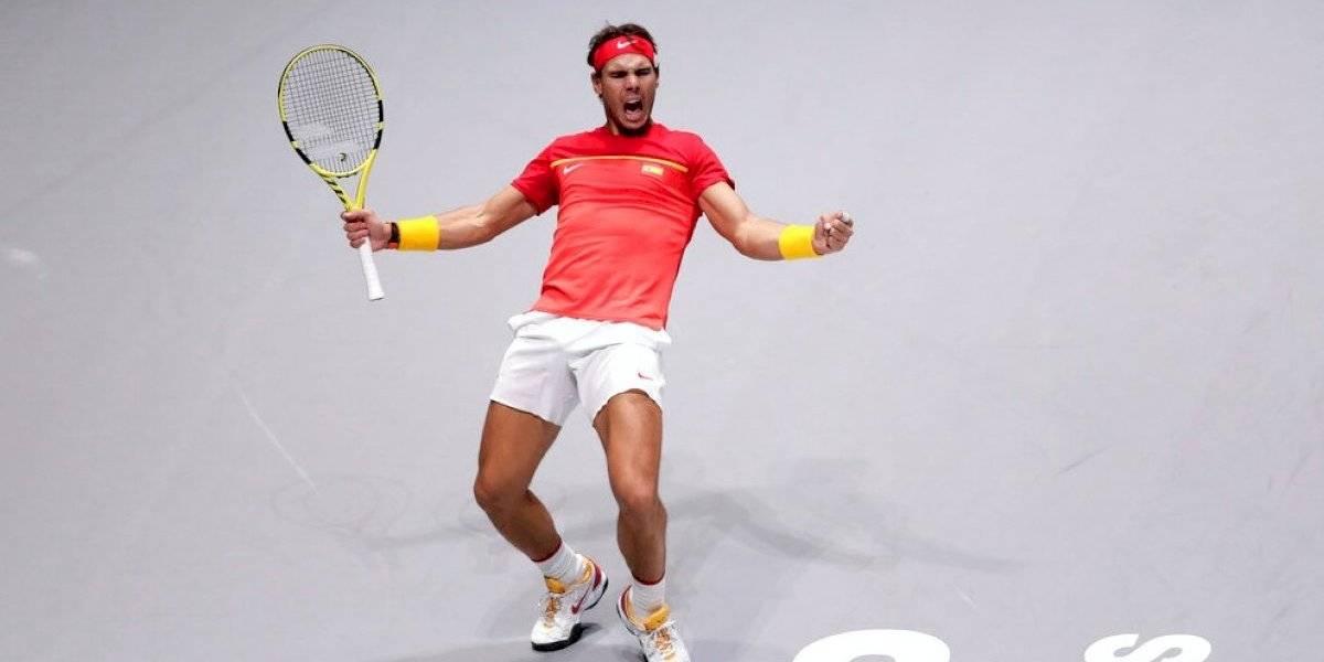 Rafa Nadal pletórico en su casa: España en semis de la Copa Davis al eliminar a Argentina