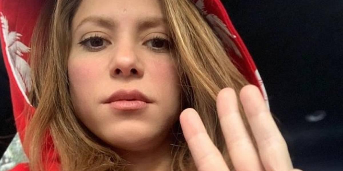 Las inéditas fotos de Shakira de cuando era adolescente