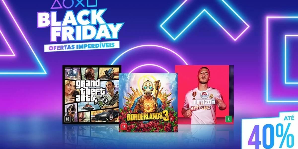 Já está disponível promoção de Black Friday da PlayStation Store