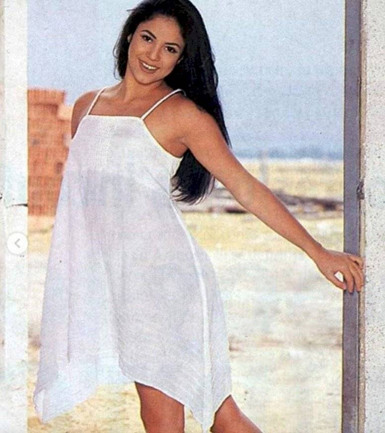 Shakira de joven