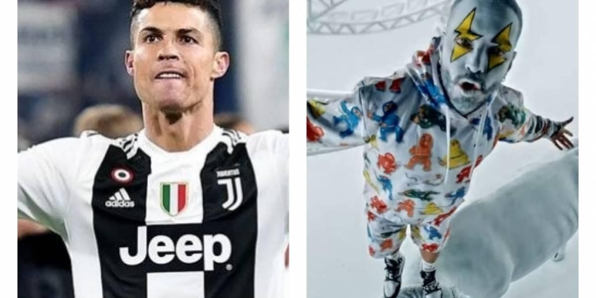 VIDEO. Cristiano Ronaldo le agradece a J Balvin