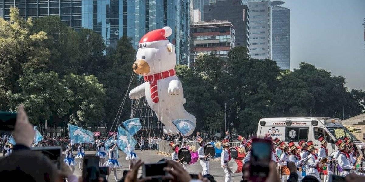 ¿Cuándo y a qué hora será el desfile navideño de la CDMX?