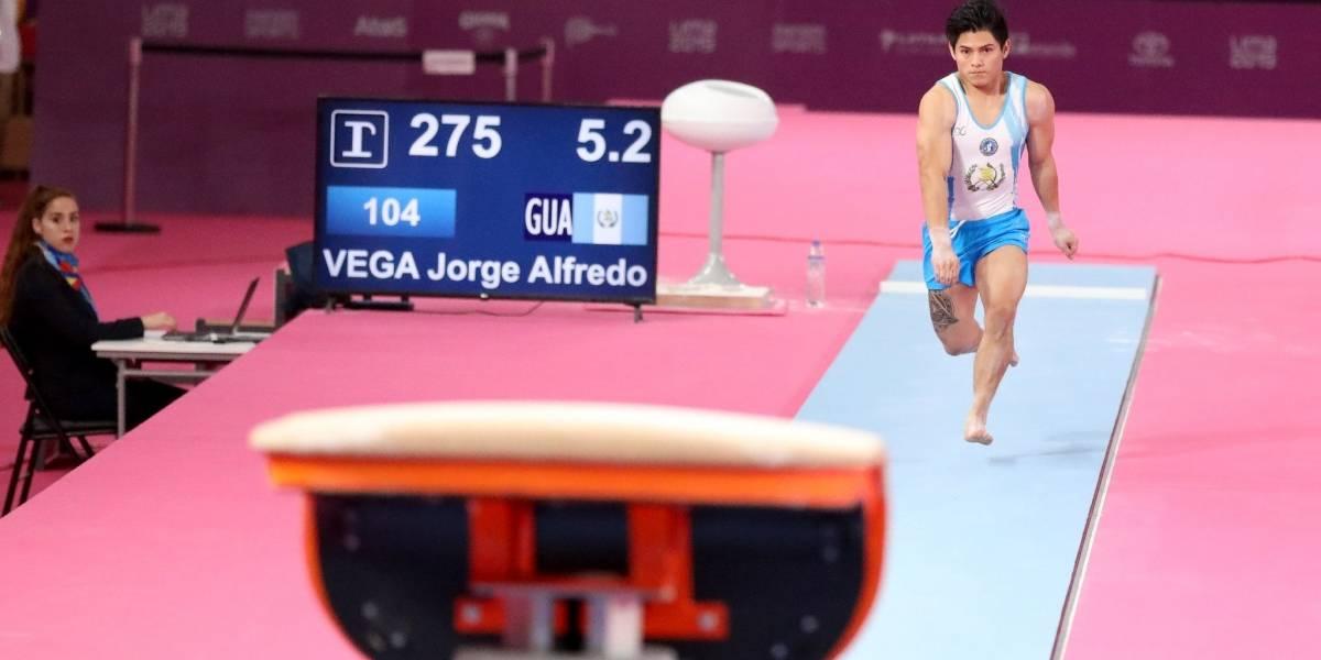 El gimnasta Jorge Vega disputará una nueva final