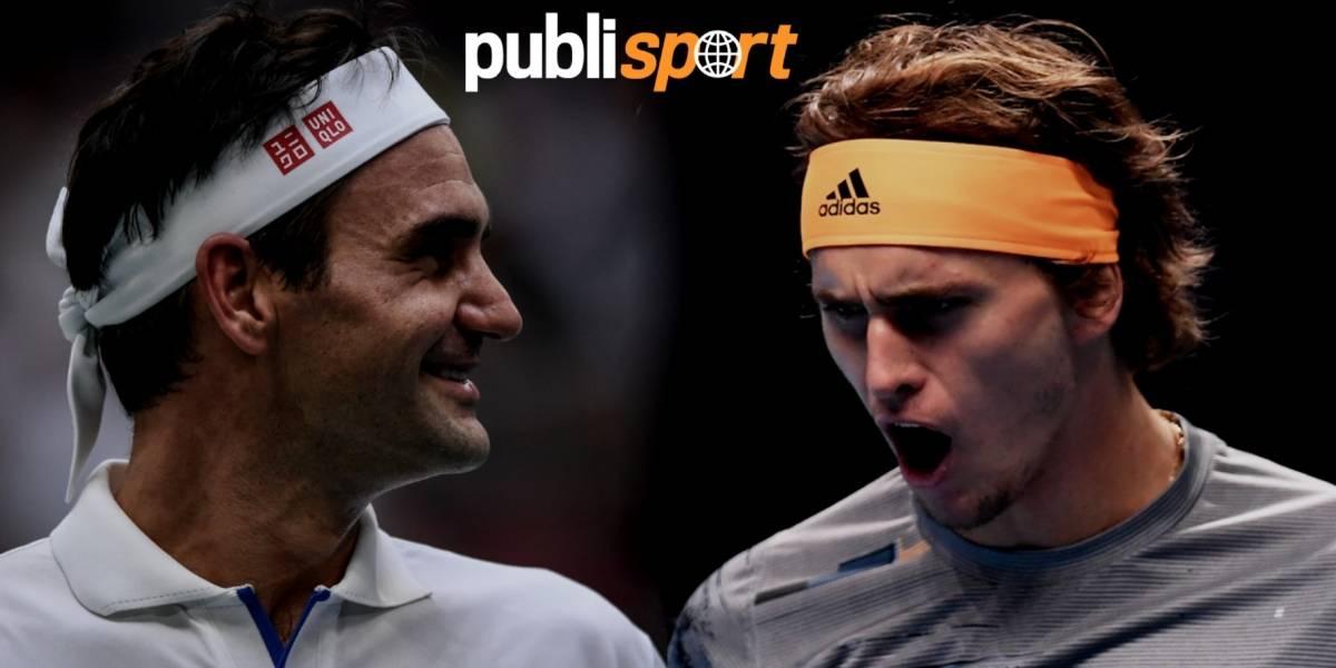 Federer vs. Zverev, ¿dónde y a qué hora ver el partido en México?