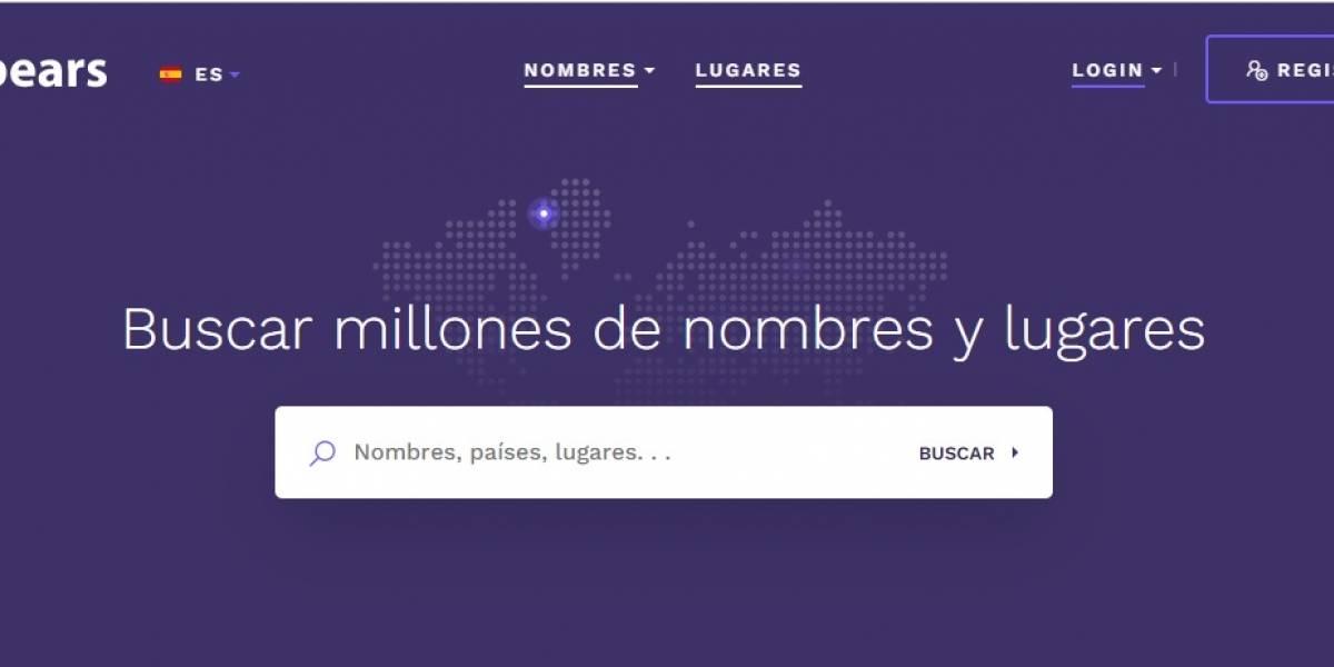 Forebears: la web que descubre tu origen usando tu nombre y apellido