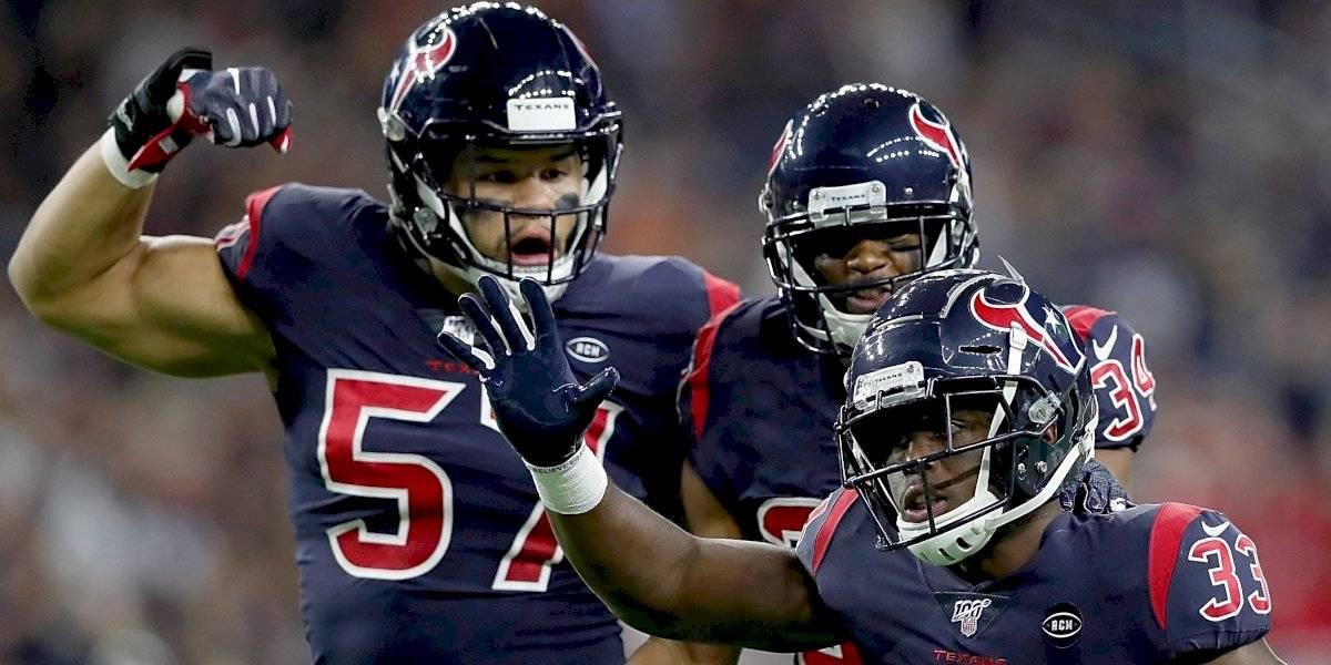 Texans toma liderato de la división tras vencer a los Colts