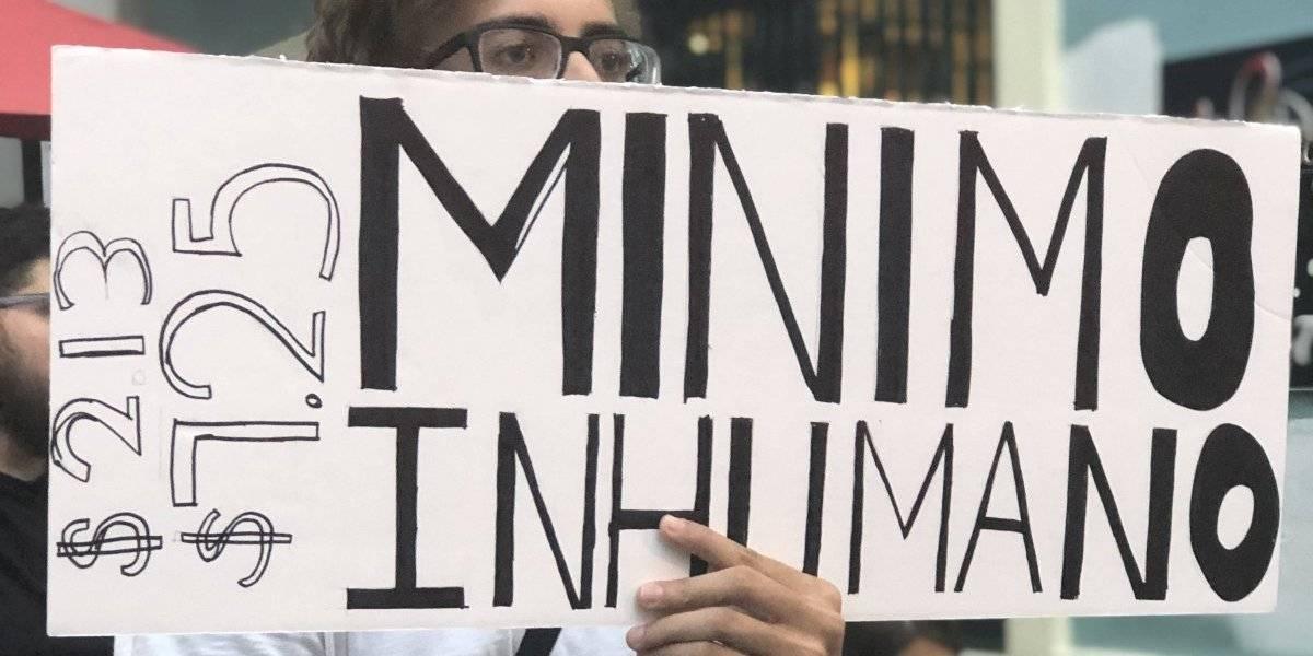 Legislatura cierra sesión sin considerar aumento al salario mínimo