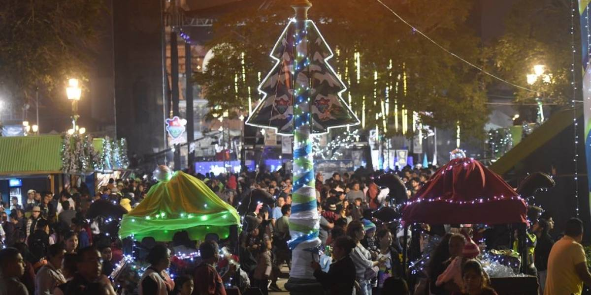 EN IMÁGENES. ¡Inauguran el Festival Navideño del Paseo de la Sexta!