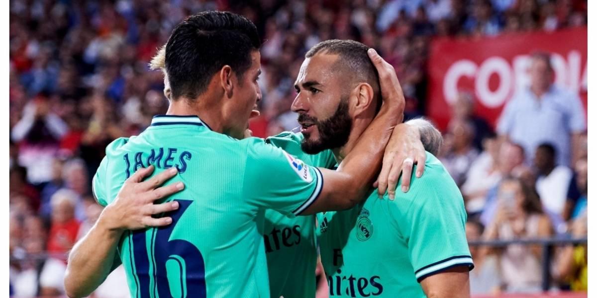 Real Madrid sigue firme y vence a la Real Sociedad