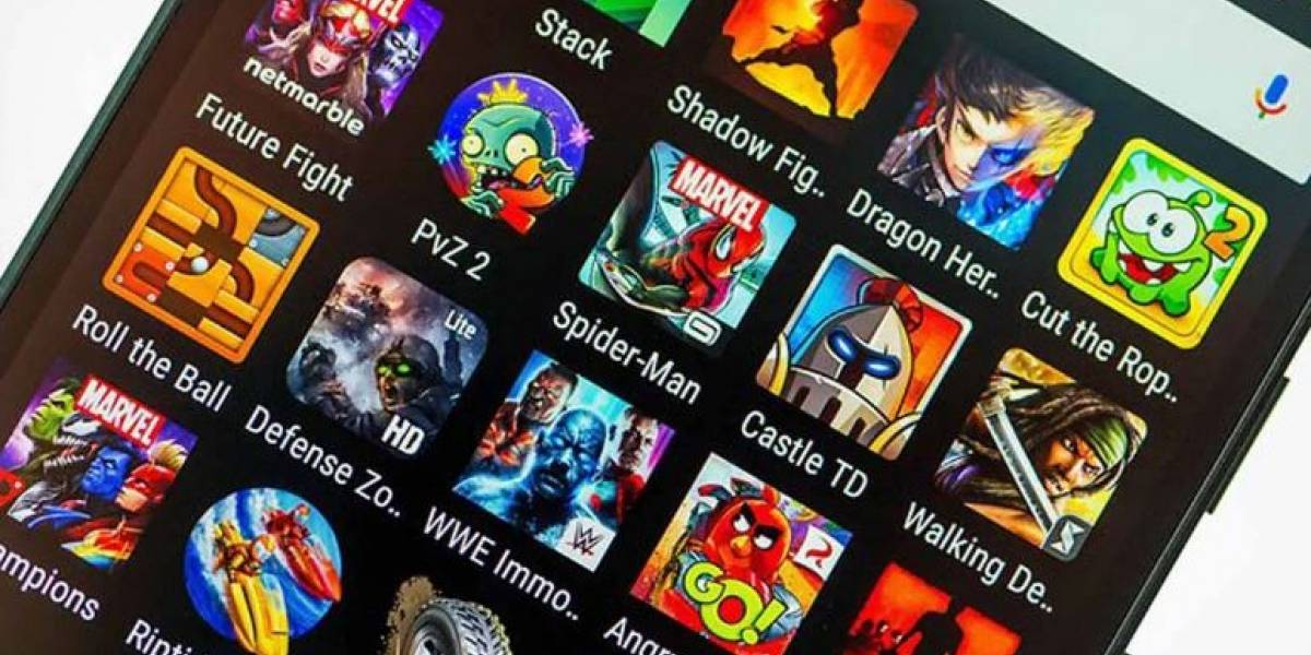 El  Top 5 de los juegos más descargados de Android