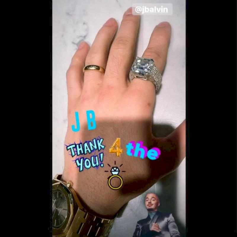 Anillo Justin Bieber