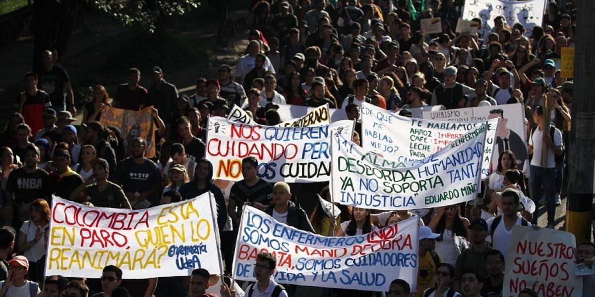 Estos serán los puntos de concentración del paro nacional en Bogotá