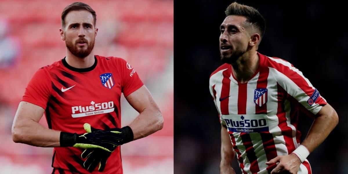 Oblak pide titularidad para Héctor Herrera en el Atlético de Madrid