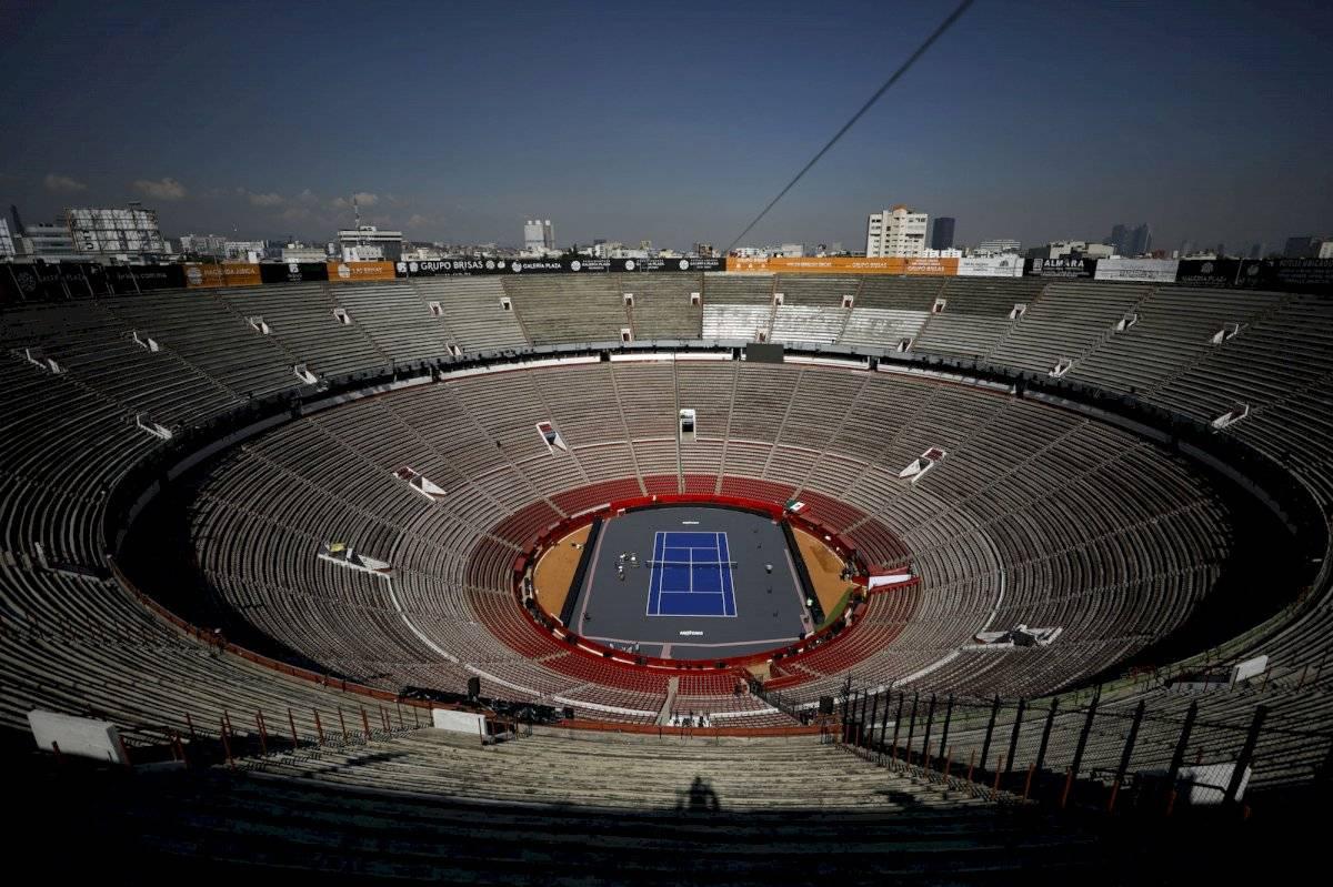 La Plaza ya está lista para recibir el partido la noche del sábado |AP
