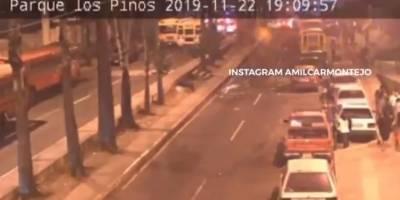 Atentado contra agentes de la Policía Nacional Civil.