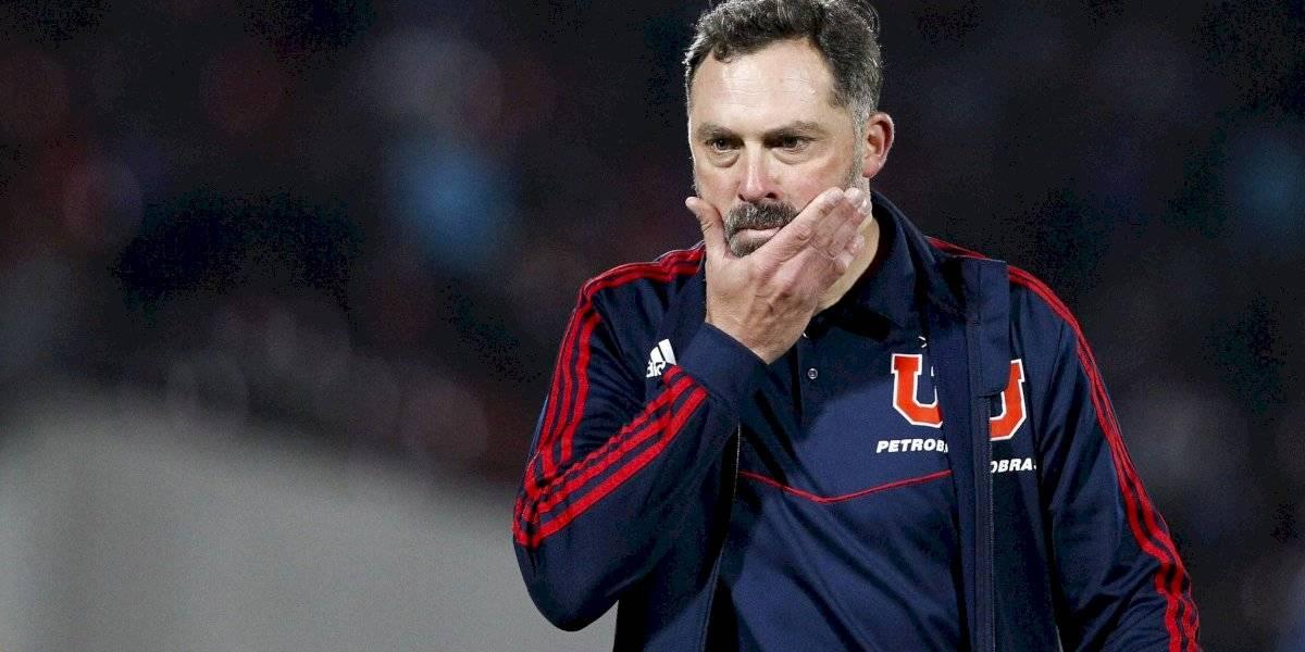 """Caputto no quiere pensar como DT de la U 2020: """"Sería una irresponsabilidad, hay que ver cómo termina el torneo"""""""