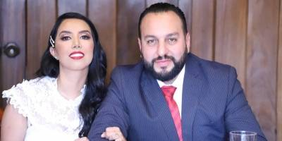 Matrimonio civil Regalado Martínez.