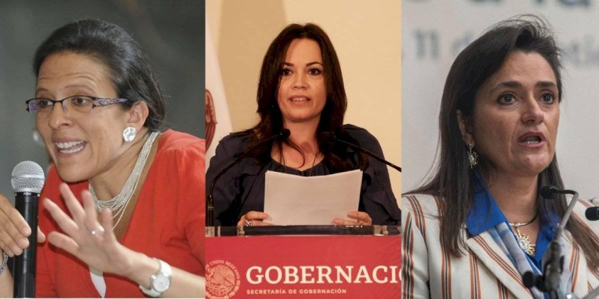 Margarita Ríos-Farjat, Ana Magaloni y Diana Álvarez, terna de AMLO para SCJN