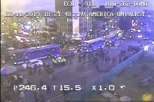 ECU 911 actualiza informe sobre lo sucedido en el Centralazo