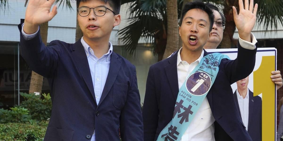 Calma en Hong Kong a un día de elecciones que pulsan el apoyo a protestas