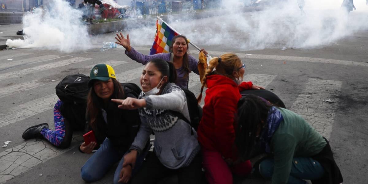 Gobierno provisional de Bolivia anuncia diálogo con sectores movilizados
