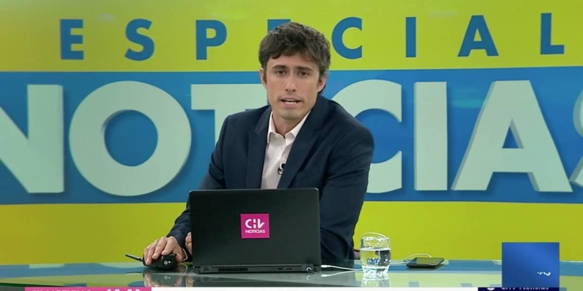 Porque el público lo pidió: Roberto Cox volvió a conducir las noticias en CHV