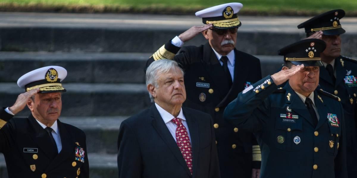 """""""No me equivoqué"""": López Obrador sobre titulares de Sedena y Marina"""