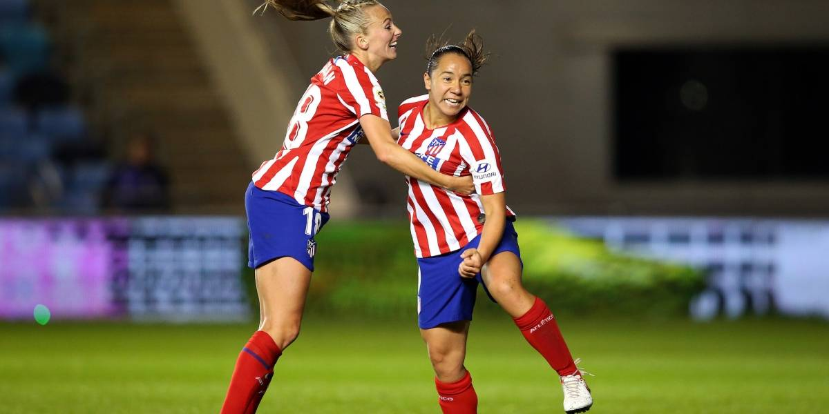 Mexicana Charlyn Corral marca doblete en victoria del Atleti