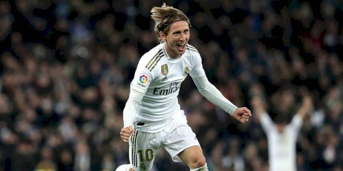 Luka Modric guía la victoria del Real Madrid sobre Real Sociedad