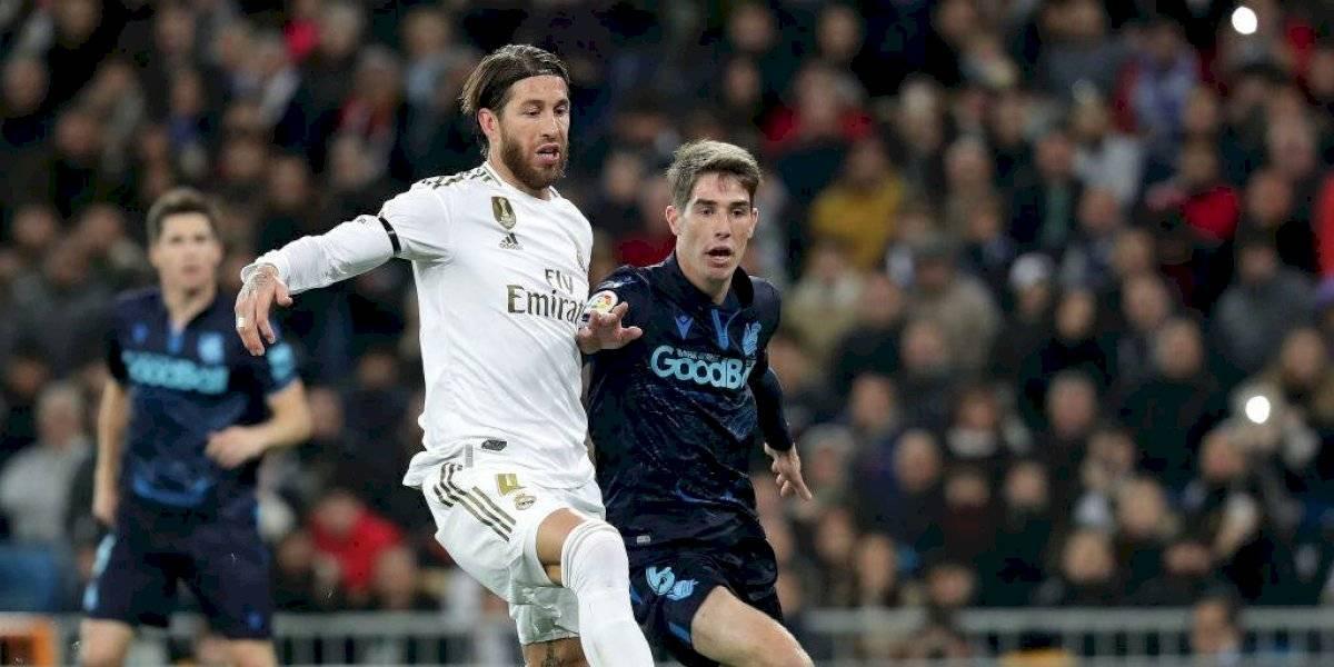 VIDEO: Sergio Ramos se equivoca y regala el primer gol de la Real Sociedad