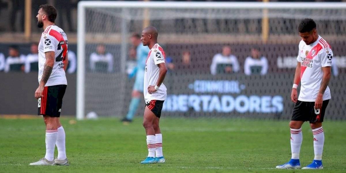 """La pena del camarín de River Plate tras perder la final de Copa Libertadores : """"Ganaron por errores nuestros"""""""