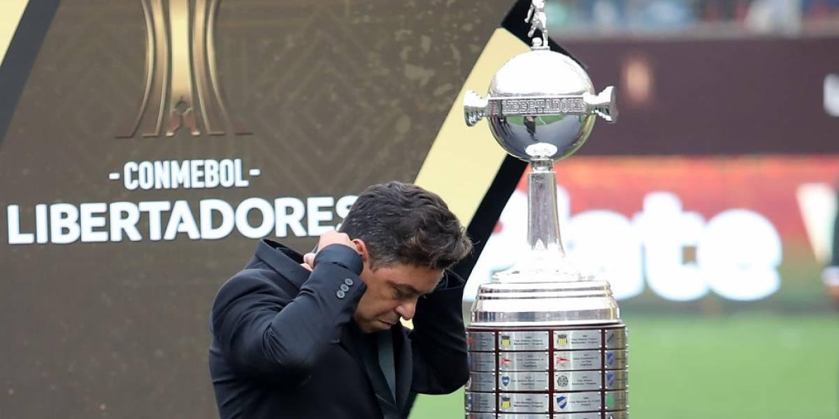 """La desazón de Gallardo tras perder la final de Copa Libertadores: """"Duele porque estuviste a nada de ganarla"""""""