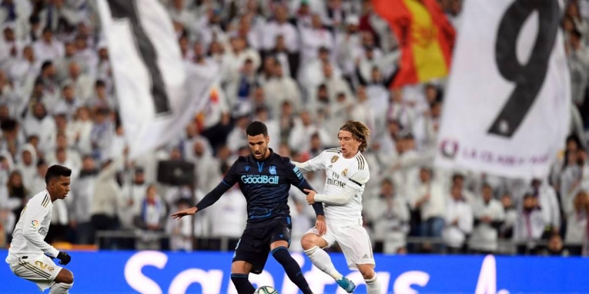 Real Madrid gana a la Real Sociedad con un inspirado Luka Modrić