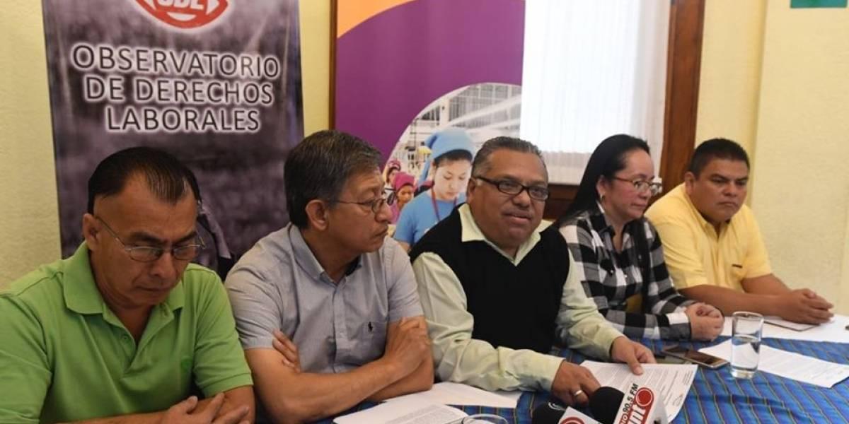 Sindicalistas reclaman acciones del Estado para perjudicar a los trabajadores