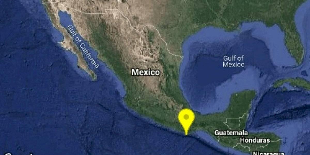 Sismo de 5.1 sacude costa de Oaxaca en Puerto Escondido