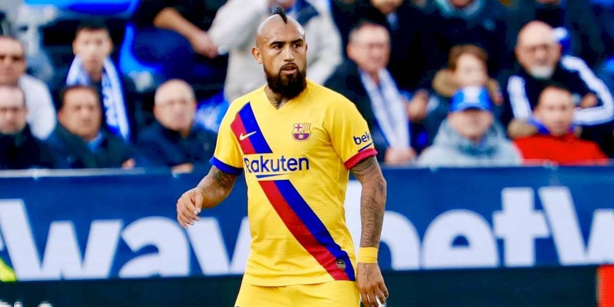 """La prensa española se rinde ante Arturo Vidal: """"Hizo todo bien y logró el gol que dio vuelta el partido"""""""