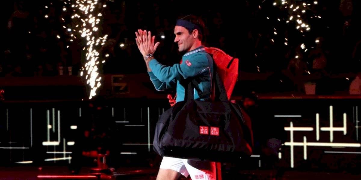 Galería: Las mejores imágenes del partido de Roger Federer en México