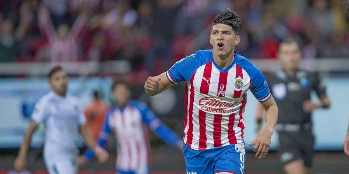 Chivas remonta a Veracruz con doblete de Alan Pulido
