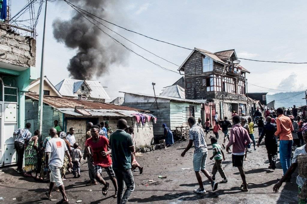 Accidente aéreo en el Congo