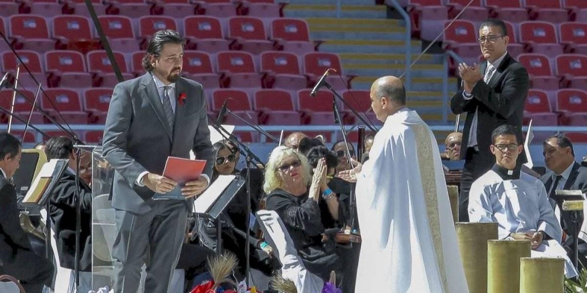 La emotiva carta de Amaury Vergara para despedirse de su padre