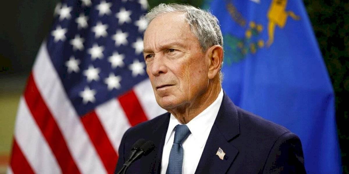 Michael Bloomberg formaliza su candidatura demócrata a la presidencia de EU