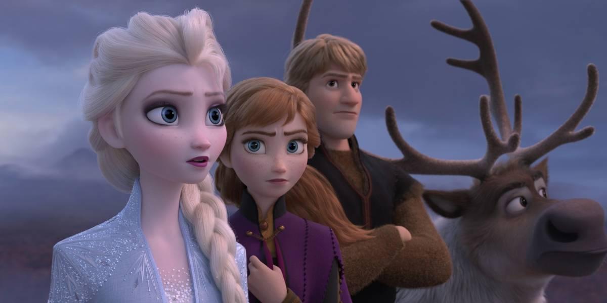 Frozen 2 rompe récord del fin de semana de Acción de Gracias