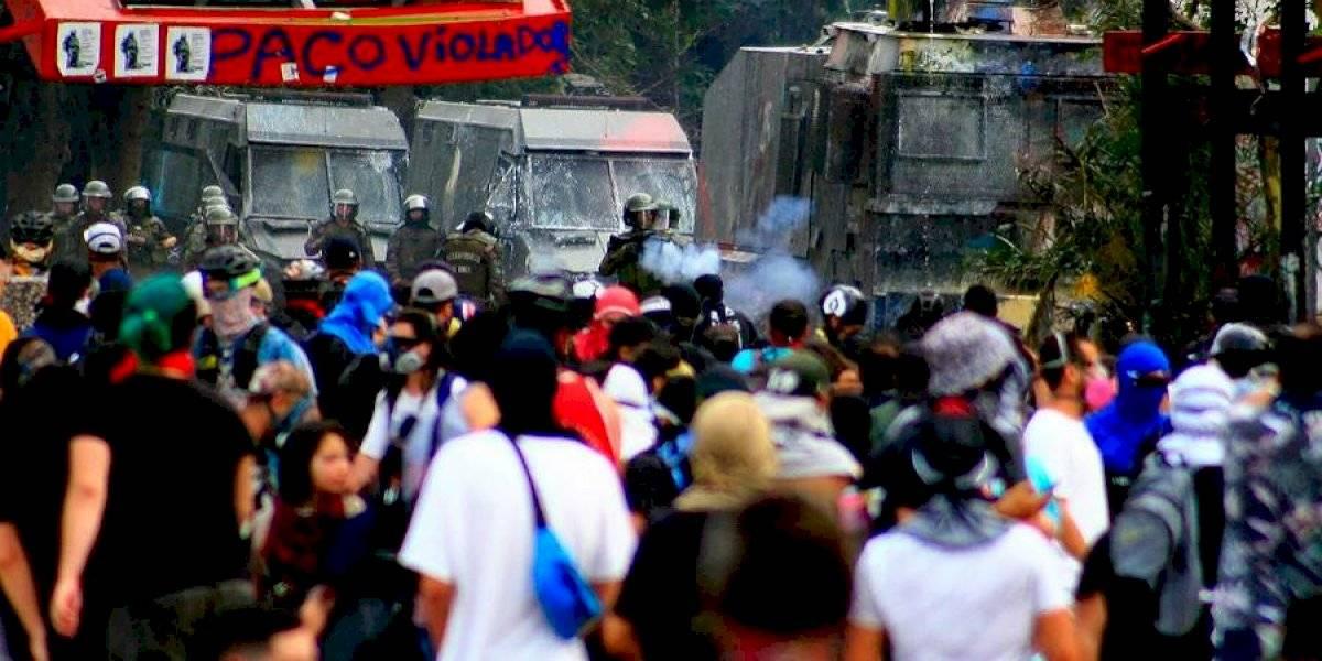 Protestas masivas por todo Chile conmemoraron los 4 meses de estallido