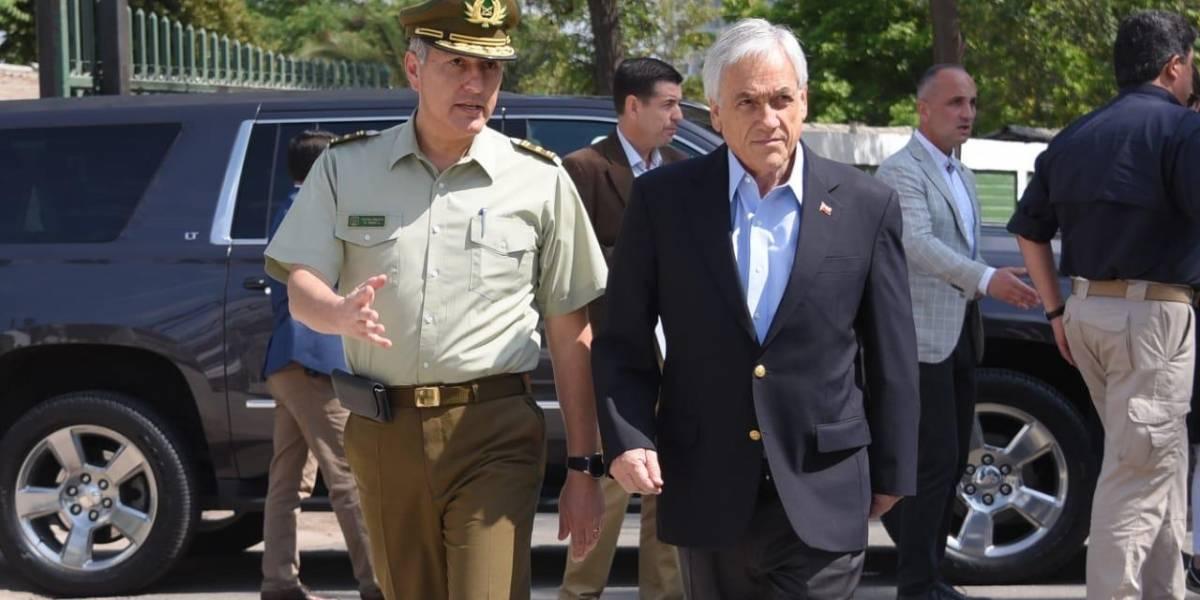 """""""Un acuerdo por la paz y contra la democracia"""": Piñera tiene un """"lapsus"""" durante discurso en Macul y redes sociales no lo dejaron pasar"""